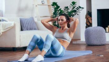 Imagem da Notícia Exercícios para a quarentena: treine, mesmo em dias de home office
