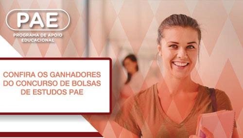 Imagem da Notícia Resultado do Concurso de bolsas PAE