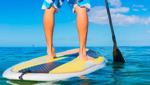 Imagem da Notícia Conheça os Benefícios do stand up paddle para a saúde