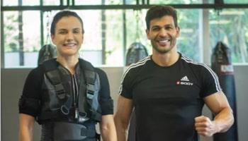Imagem da Notícia Treino com colete de eletroestimulação aumenta força e promove hipertrofia muscular