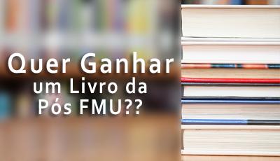 Imagem da Notícia Quer ganhar um Livro da Pós FMU?